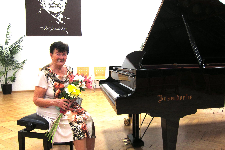 Koncert k jubileu Věry Lejskové